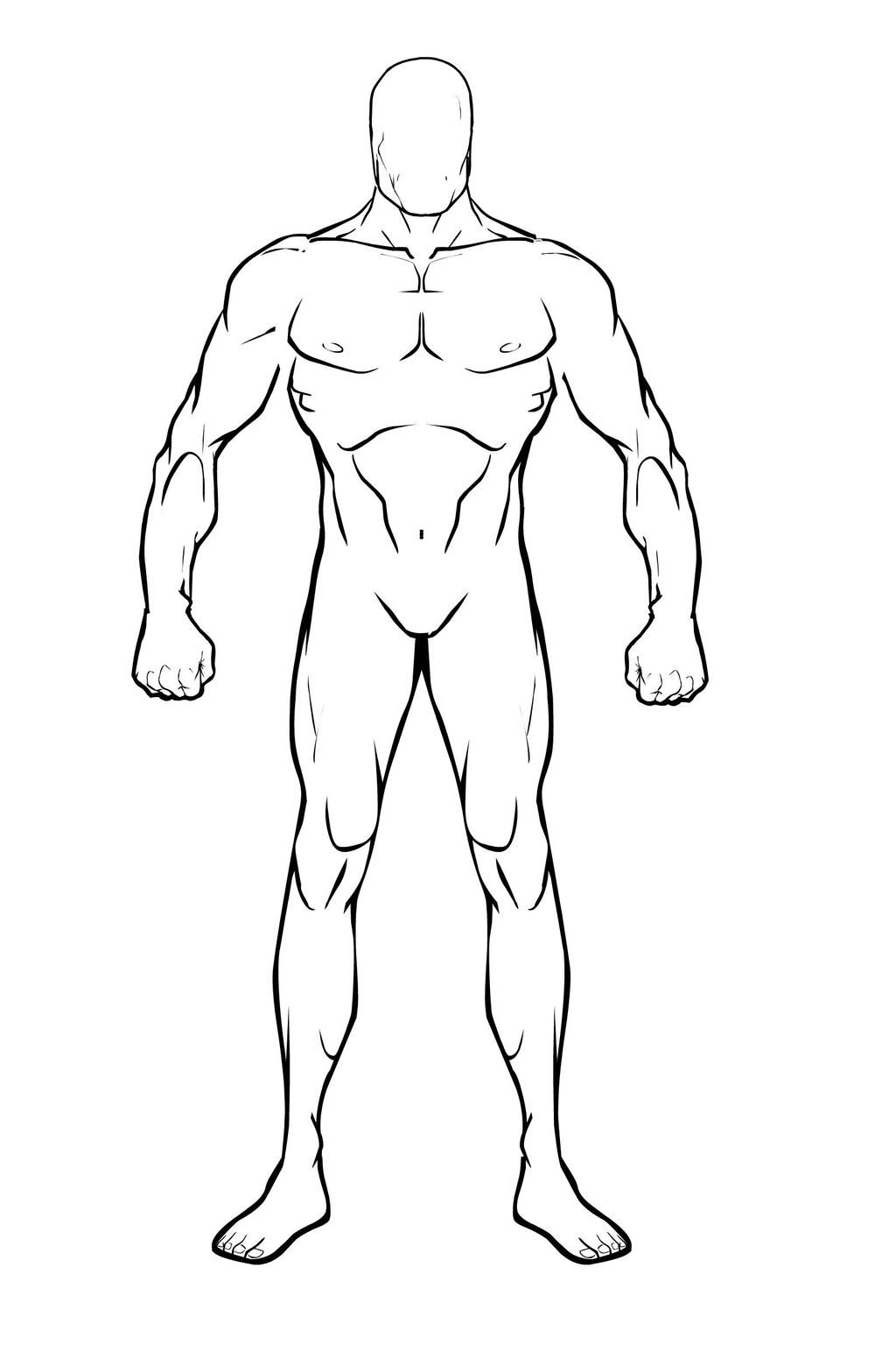 Male Body Base By BioClay88 On DeviantArt