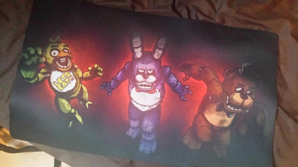 Five Nights at Freddys Playmat by ToSealOurFate