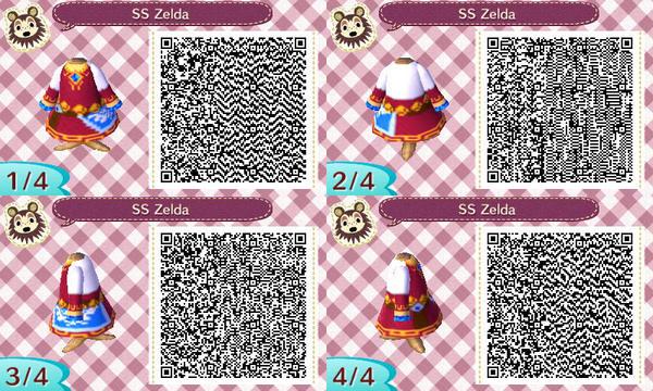 SS Zelda New Leaf QR Code by TessLeilani