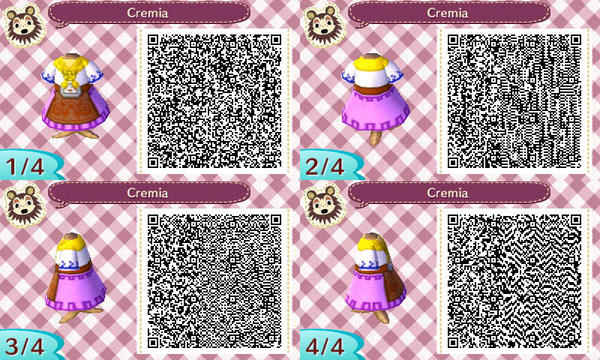 Cremia Malon New Leaf Qr Code By Tessleilani On Deviantart