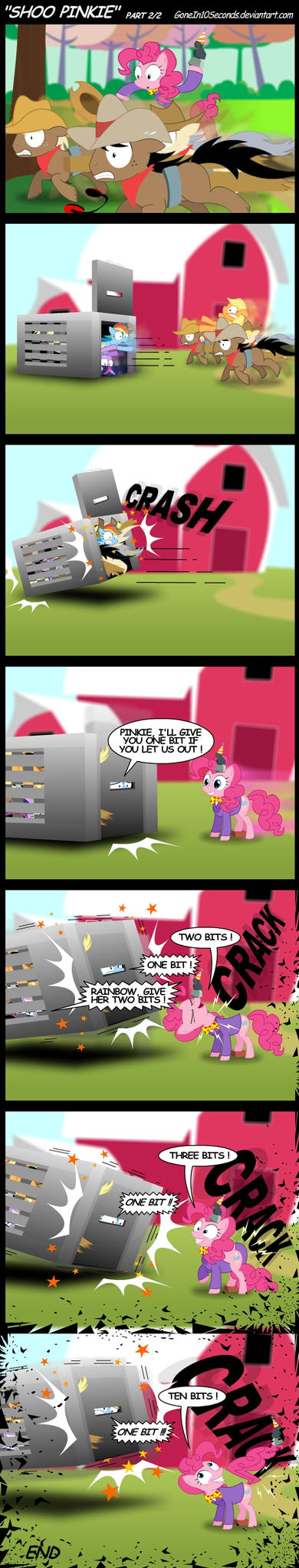 Shoo Pinkie Part 2 by GoneIn10Seconds