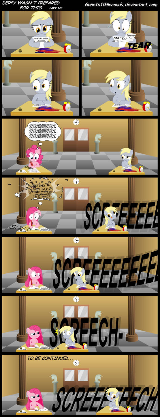 Derpy wasn't prepared for this PART 1 by GoneIn10Seconds