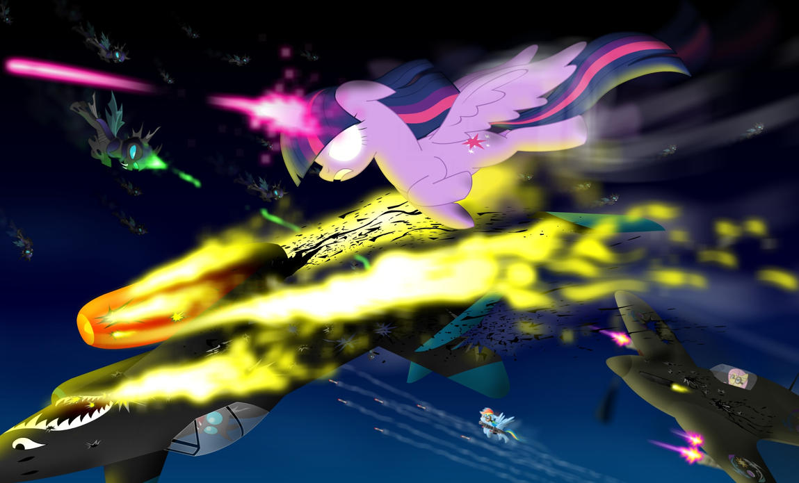 Twilight Combat by GoneIn10Seconds