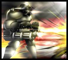 Heavy soldier by GoneIn10Seconds