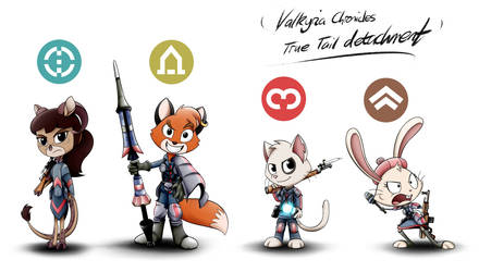 Valkyria True Tail by GoneIn10Seconds