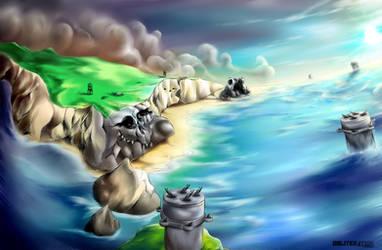 Coastal defence fortification