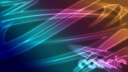 Cosmic Abstract - Wallpaper 1