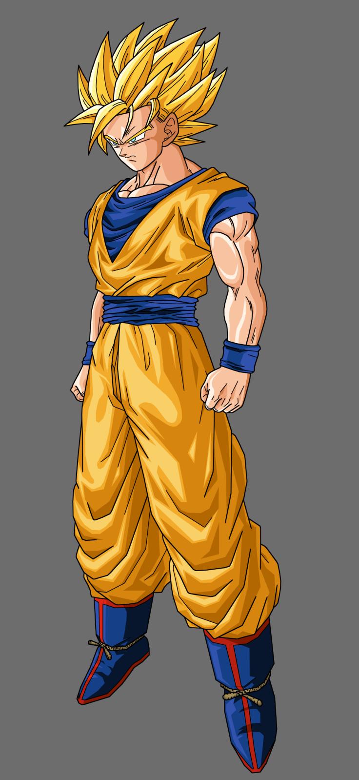 Goku Ssj Perfil By Amodragonball On Deviantart