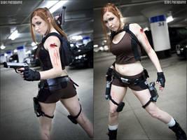 Lara - Underground Shoot by KPCosplays