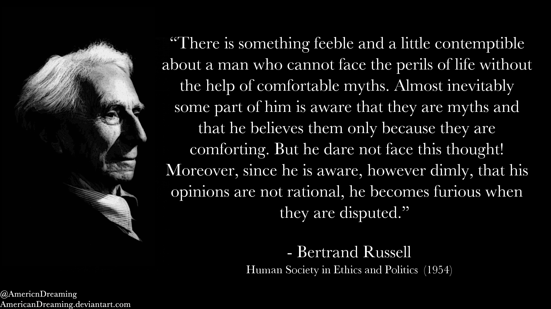 Bertrand Russell on Delusion