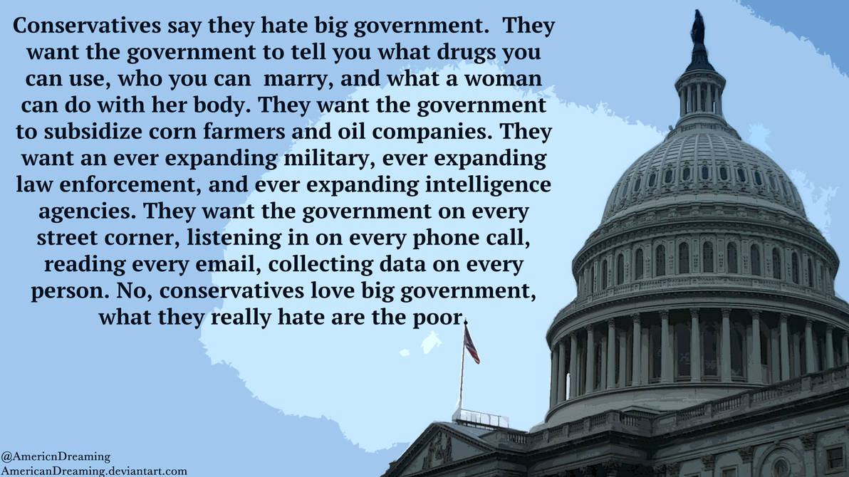 Big Government by AmericanDreaming