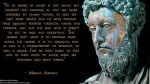 Marcus Aurelius on Manliness by AmericanDreaming