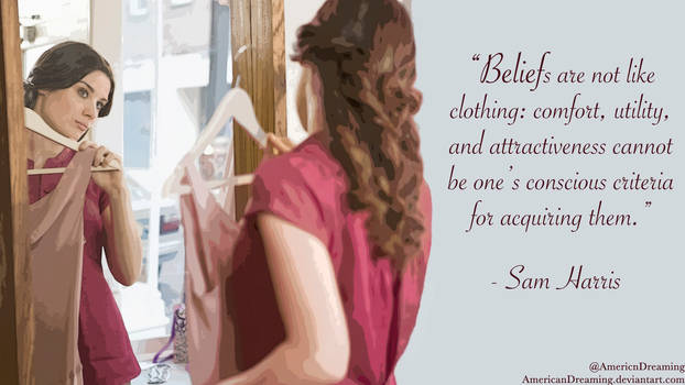 Beliefs are Not Like Clothing