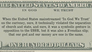 In God We Trust by AmericanDreaming