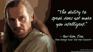 Qui-Gon on Political Talking Heads by AmericanDreaming