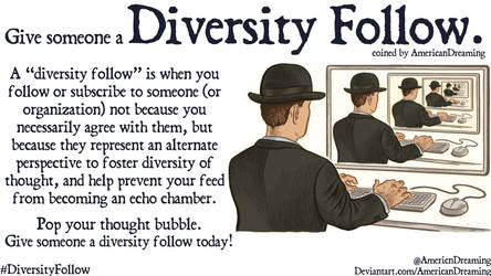 Diversity Follow by AmericanDreaming
