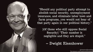 Eisenhower on Social Security