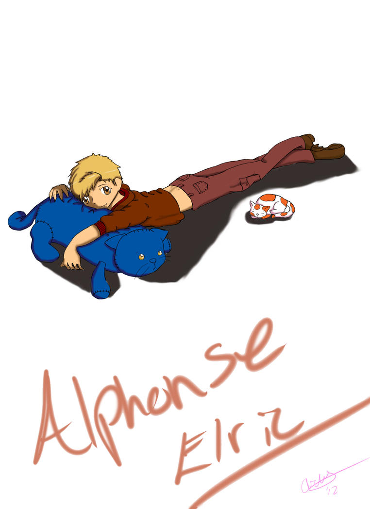 Alphonse Elric by SugarBerry63