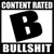 Content Rated B