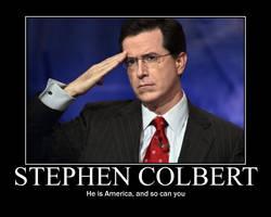 Stephen Colbert motivator by Yagton