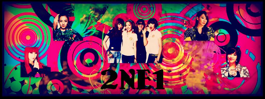 2NE1 Banner by pinkrangerwannabe