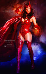 Wondercon 2014 - Scarlet Witch by wbmstr