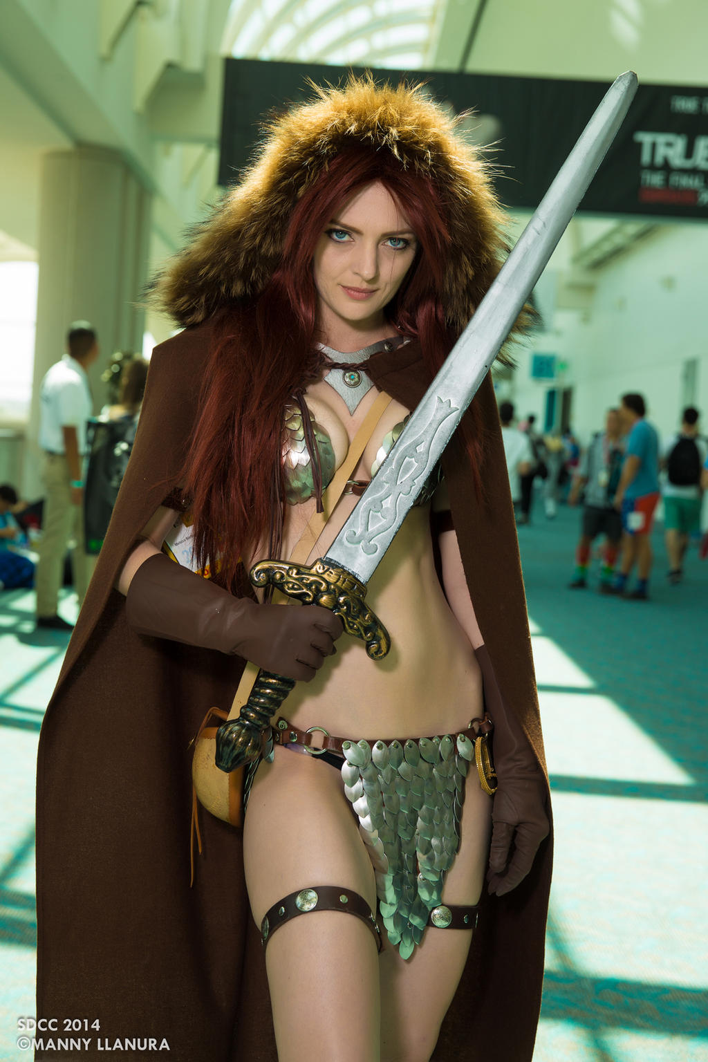 Red Sonja Cosplay by Melissa Biethan SDCC 2014 by wbmstr