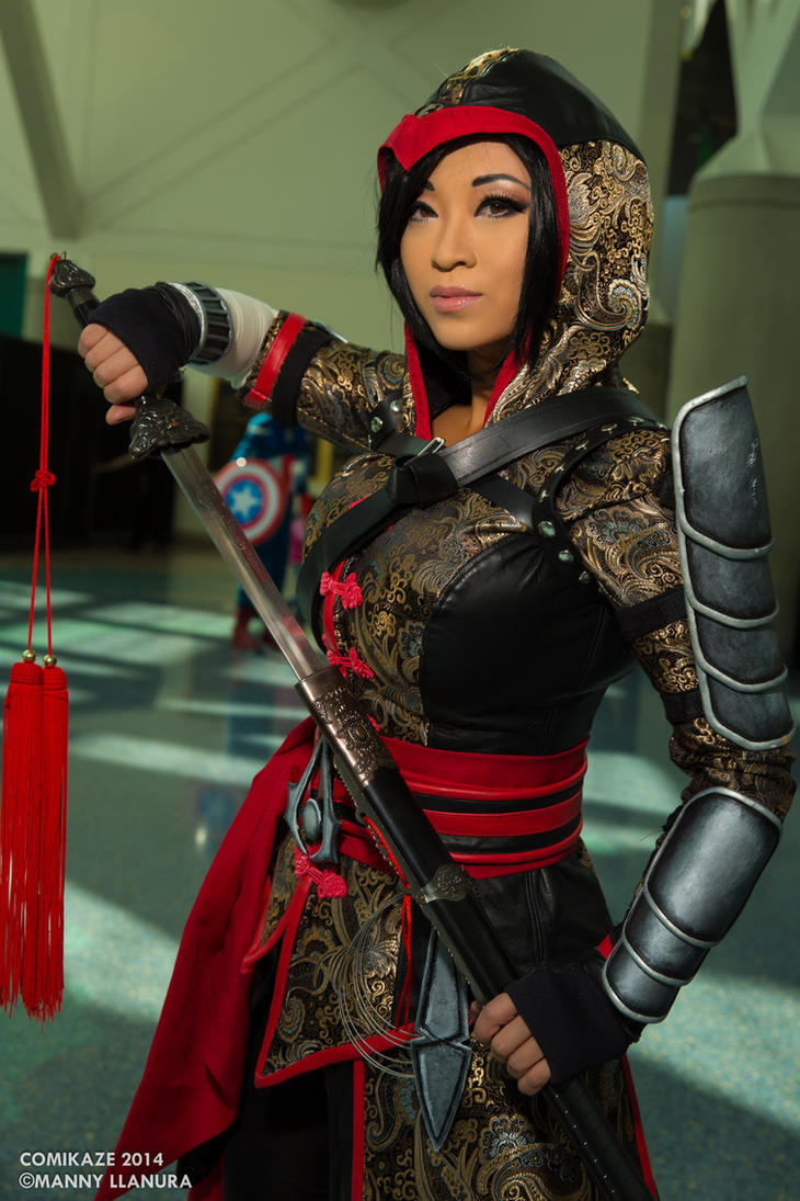 Comikaze 2014 Shao Jun Yaya Han Cosplay by wbmstr
