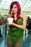 Poison Ivy and Baby Groot Cosplay Sara Marinello
