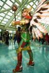 Comikaze 2014 Hawkgirl Axceleration Cosplay