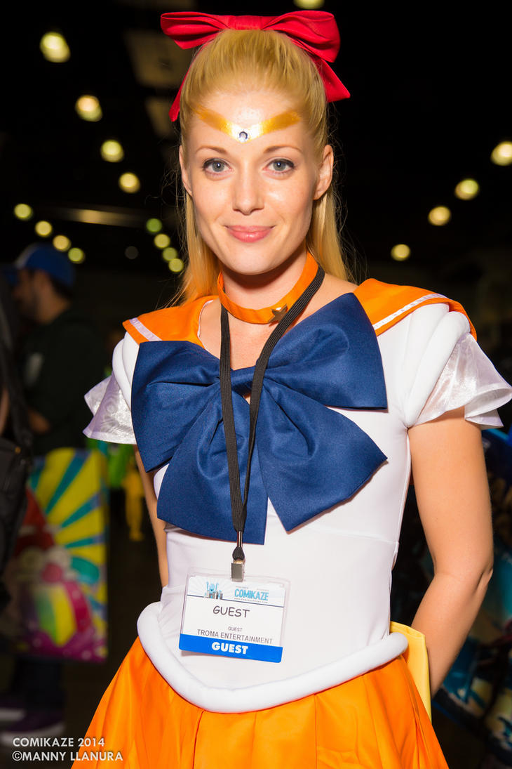 Comikaze 2014 Sailor Venus by wbmstr