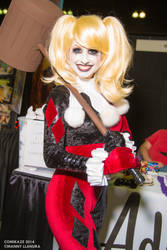 Comikaze 2014 Harley Quinn Traci Hines Cosplay