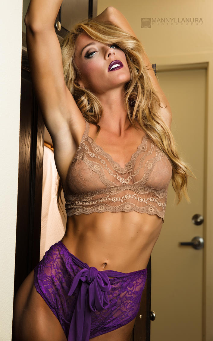 Sara Ashlee Vintage Purple Lingerie by wbmstr