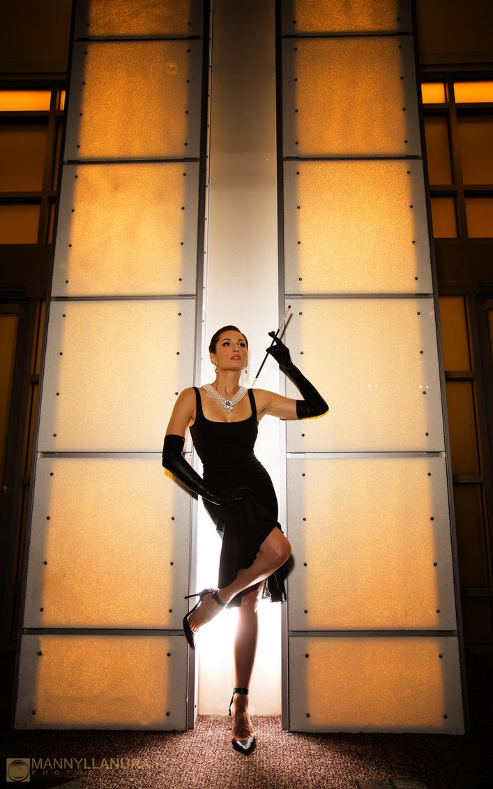 Tatiana Dekhtyar as Audrey Hepburn II by wbmstr