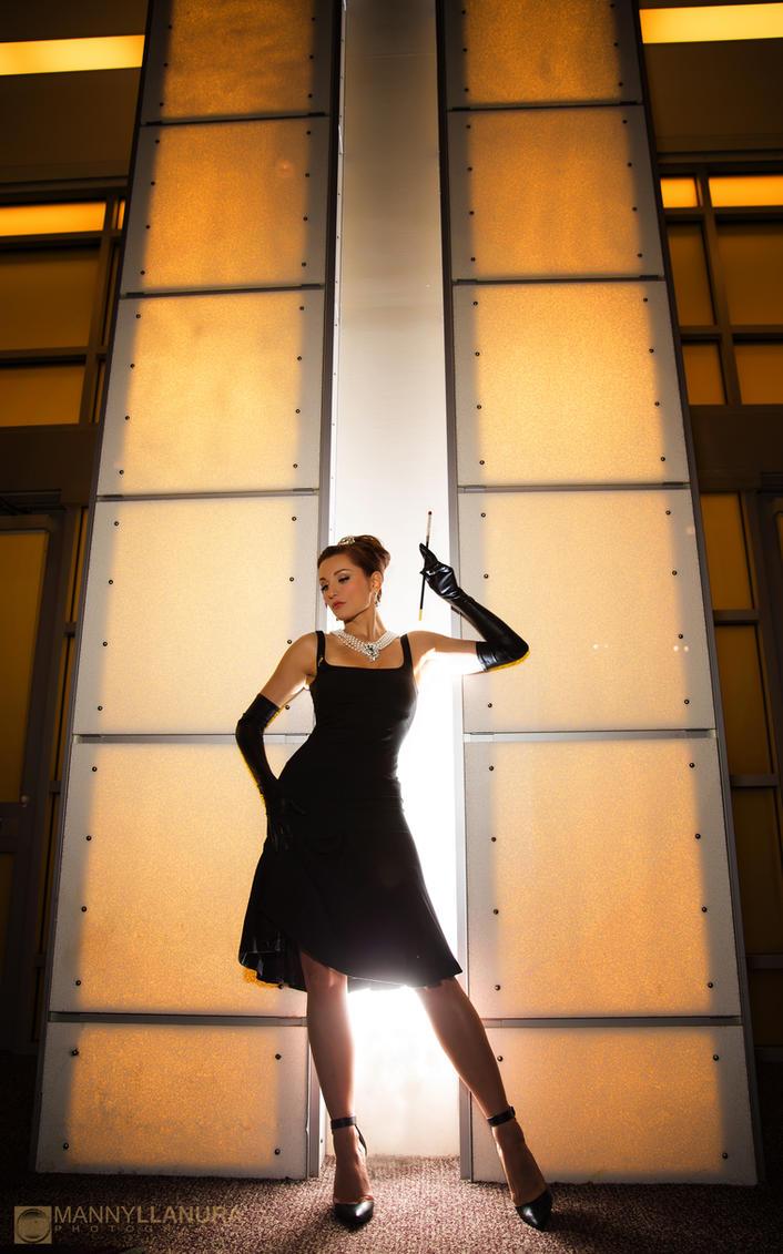 Tatiana Dekhtyar as Audrey Hepburn III by wbmstr