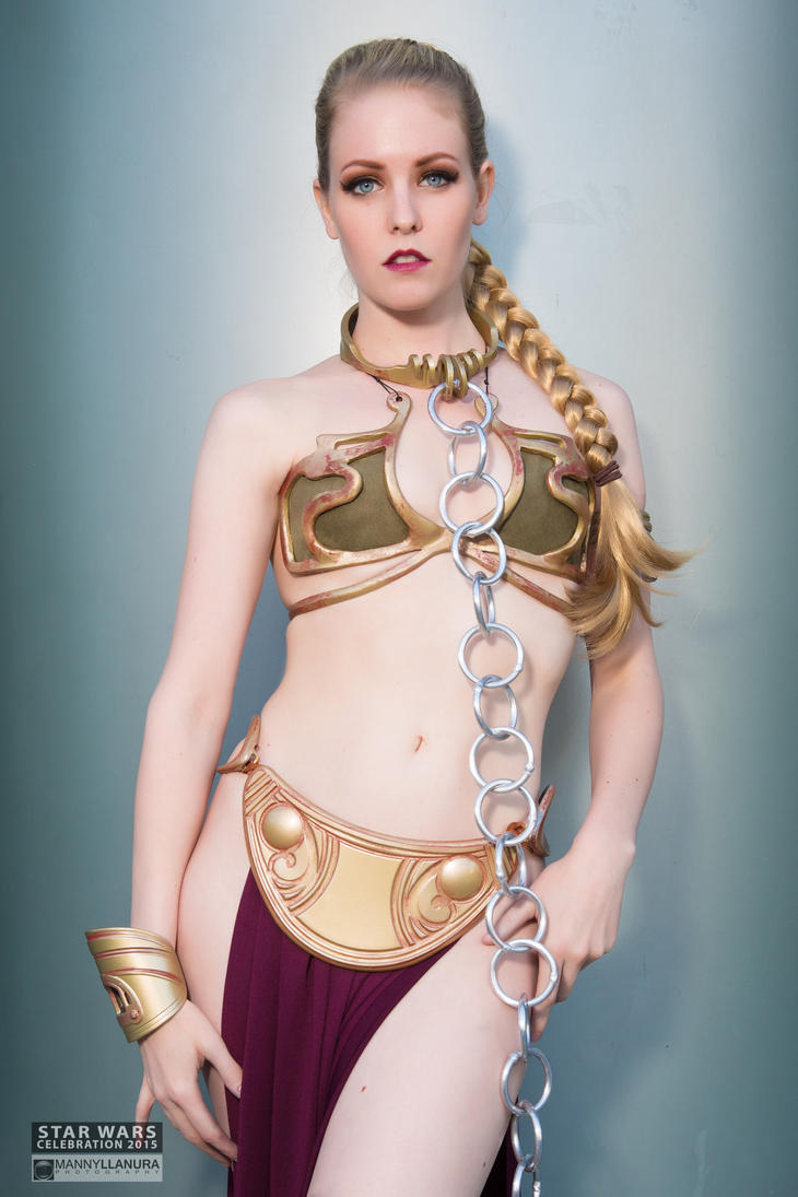 Slave Leia - Maid of Might Cosplay by wbmstr