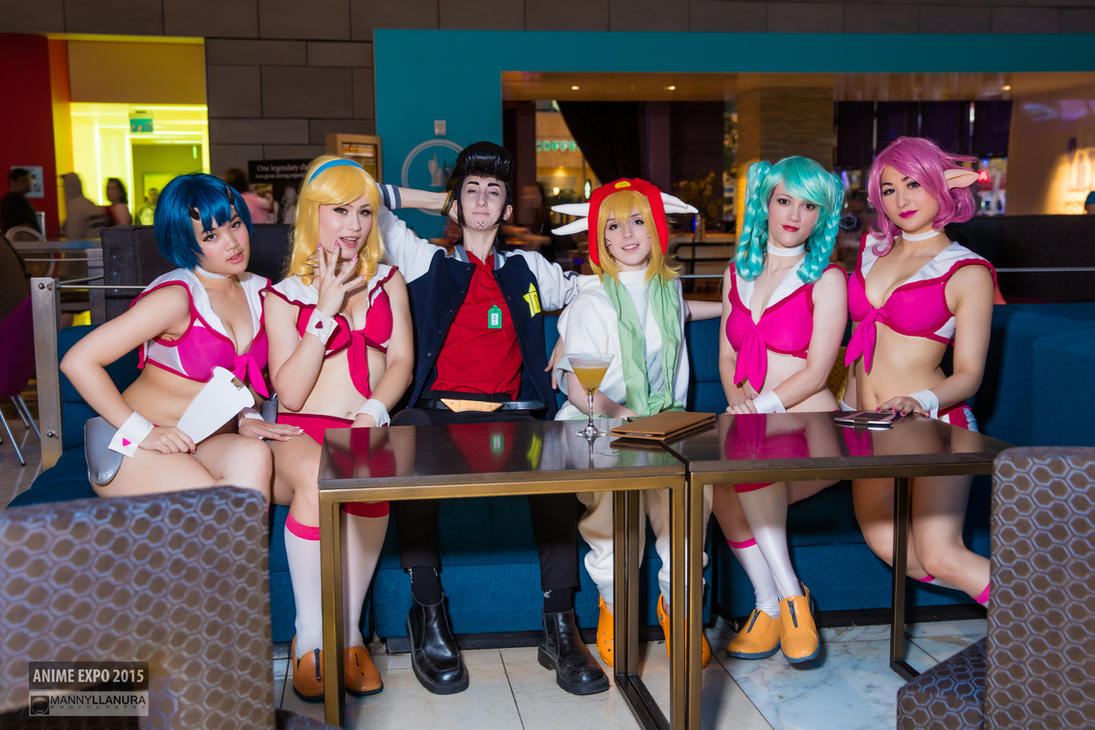 Space Dandy Boobies Waitress by wbmstr