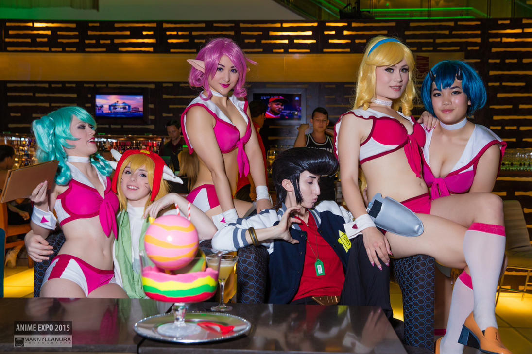 Space Dandy Boobies Waitress Cosplay by wbmstr