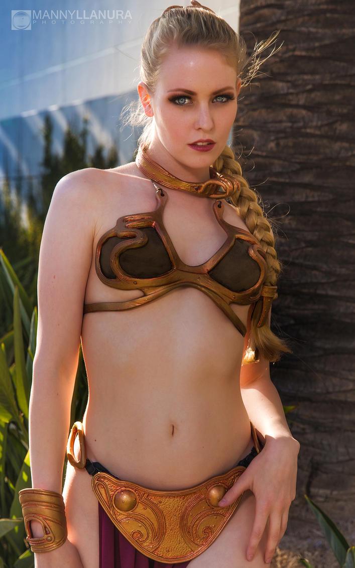 Slave Leia Awakens by wbmstr