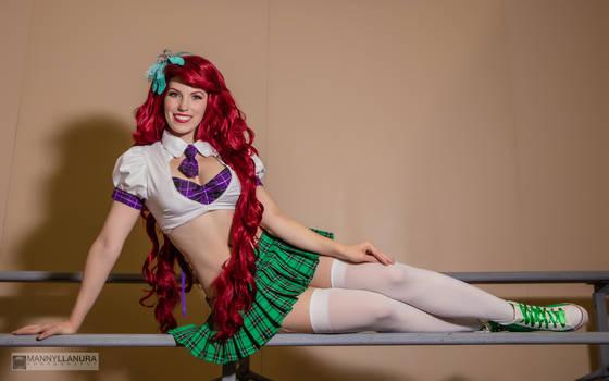 School Girl Ariel