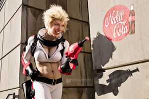 Nukagirl Cosplay II - Fallout 4 by wbmstr