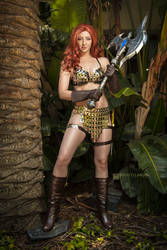 Red Sonja by Feisty Vee