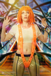 Leeloo Dallas Cosplay by Ali Williams