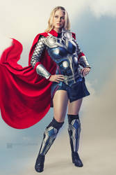 Thor Cosplay by Genevieve Marie by wbmstr