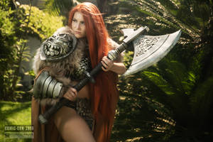 Red Sonja by Crystal Wolf