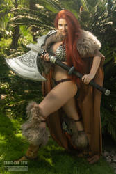 Red Sonja II by Crystal Wolf