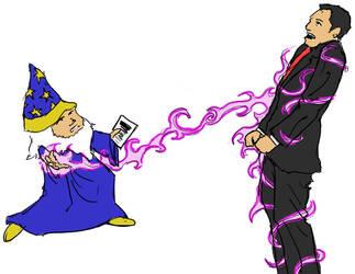 Wizard VS Man
