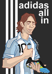 Messi all in