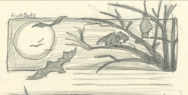 Bat mug doodle by siaorie