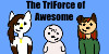 TriForce of Awesome Icon by harpseal16